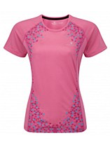 Ronhill Aspiration Short Sleeve Tee Rose
