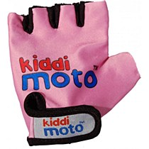 Kiddimoto Gloves Neon Pink