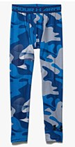 Ronhill Junior Printed Fitted Leggings Blue