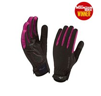 Seal Skinz All Weather Cycle Glove Women's Black/ Pink