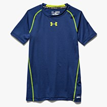 Under Armour Short Sleeve Tee Junior Blue/ Yellow