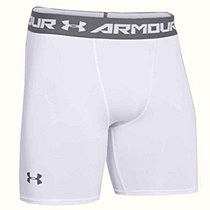 Under Armour Compression Shorts White