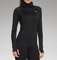 Under Armour Women's Cozy Neck Black