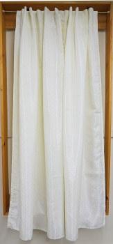 Serene Mist Shower Curtain - Ivory