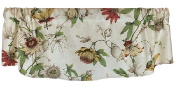 Country Cottage Crescent Valance - White Tea