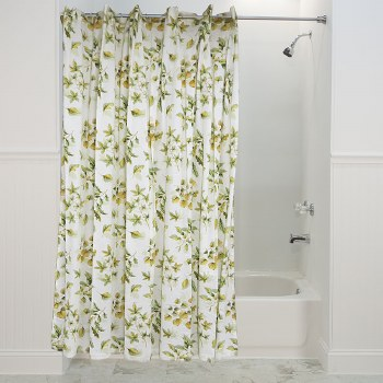 Falling Leaves Shower Curtain - Sage