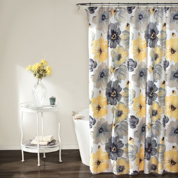Leah Shower - Yellow/gray