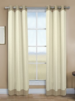 Oxford Banded Linen Taupe