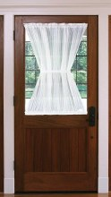 Bay Breeze Half Door Panel - White