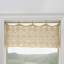 Crochet Envy Valance - Natural