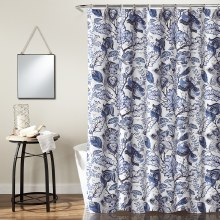 Cynthia Jacobean Shower - Blue