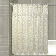 Romance Lace Shower Curtain - Beige