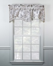 Sweet Talker Shape Valance - Dove