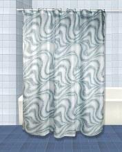Tidal Shower Curtain - Blue