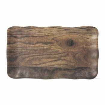 Melamine Platter Barnwood