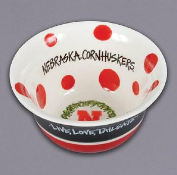 Husker Love Bowl Black