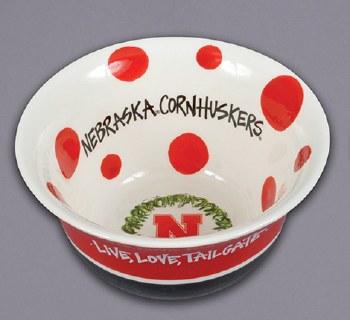 Husker Love Bowl Red