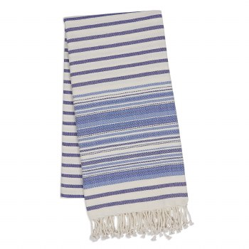 Indigo Diamond Fouta Towel