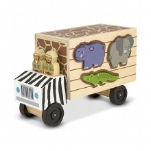 Animal Rescue Shape Sort Truck