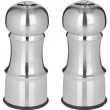 Salt & Pepper Shakers Stainless Steel