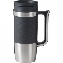 Boardroom II Travel Mug Gray 16 oz