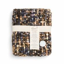 Woven Throw Blanket - Blue/grn