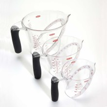 3 Piece Angled Measuring Cup Set