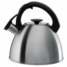 Click-Click Tea Kettle Brush Stainless Steel