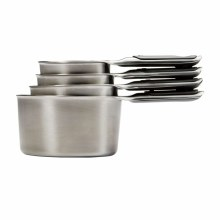 4 Pc Ss Measuring Cups Set