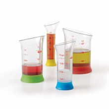 4 Piece Mini Measuring Beaker Set