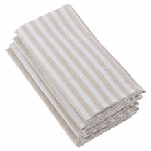 Dupont Striped Napkin Natural