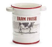 Utensil Canister Farm Fresh