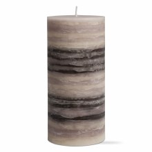 Strata Scented Pillar 3x6 Gray