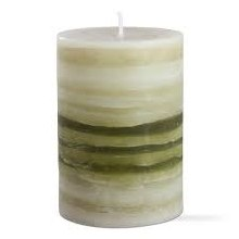 Strata Scented Pillar 3x4 Green