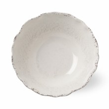Melamine Veranda Serve Bowl Ivory