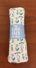 Delft Floursack Dish Towel Blue