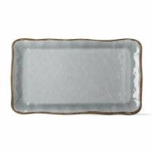 Melamine Veranda Platter Slate Blue