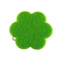 Stay  Clean Scrubber Flower Green