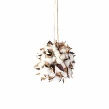 """Ornament Cotton Ball 4.5"""""""