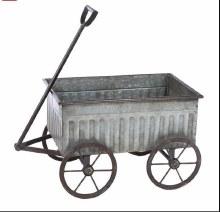 Galvanized Wagon