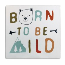 Born Wild Swaddle Blanket