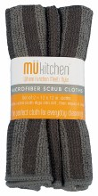 Micro Scrub Cloth Set Gray