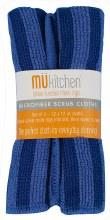 Micro Scrub Cloth Set Blue