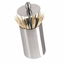 Retractable Toothpick Holder Stainless Steal