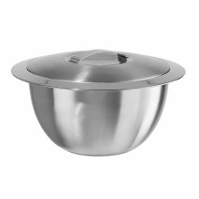 Double Wall Insulated Hot/Cold Serving Bowl with Lid 2 Qt