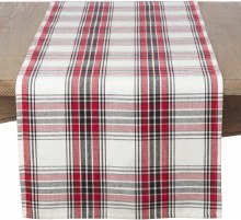 Borland Check Runner Red Black White