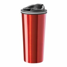 Slimline Travel Mug Red 16 Oz.