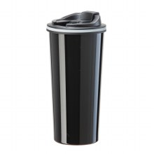 Slimline Travel Mug Black 16oz