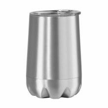Calypso Wine Tumbler 12 oz - Silver