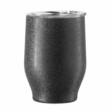 Party Wine Tumbler 12oz  Black Frost